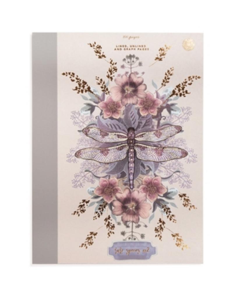 Dragonfly Clothbound Notebook