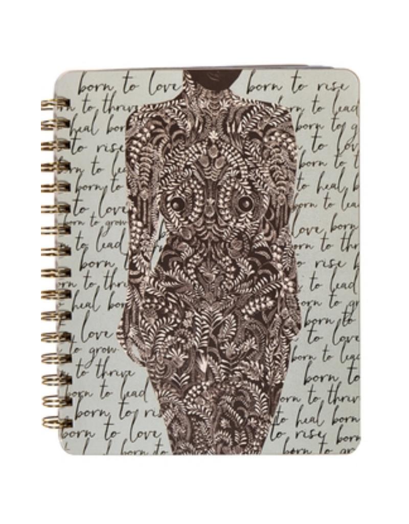 Living Woman Spiral Notebook