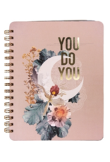 Crescent Spiral Notebook