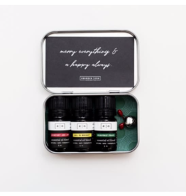 Holiday Essential Oils Collection Tin
