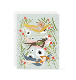 Hammock Girls Card
