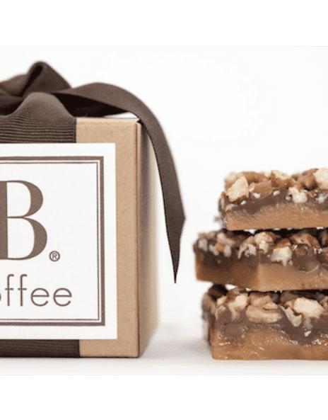 Sweet + Savory 4 oz Kraft Toffee Box