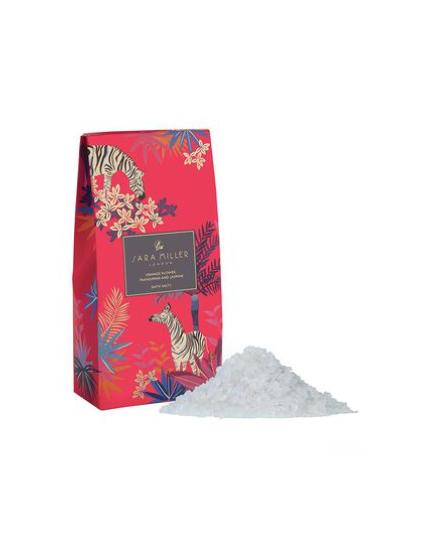 Sara Miller Orange Flower, Frangipani and Jasmine Bath Salts