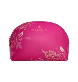 Sara Miller Small Pink Cosmetic Bag