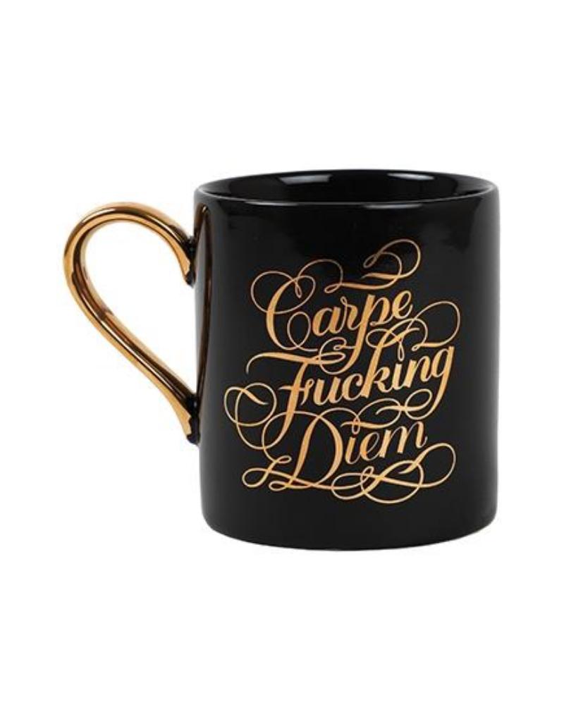 Carpe Fucking Diem Ceramic Mug