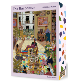 The Raconteur: 1,000 Piece Puzzle (Piece Full)