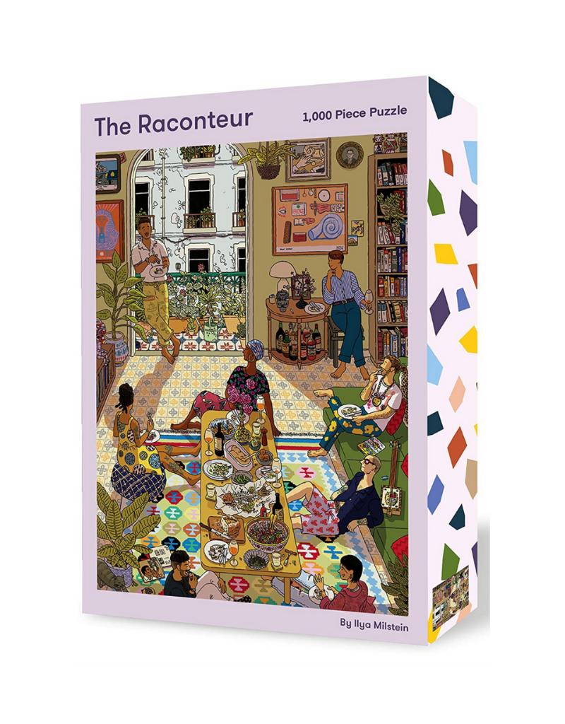 The Raconteur: 1,000 Piece Puzzle (Piece Full)