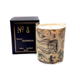 No 8 Magnolia Candle