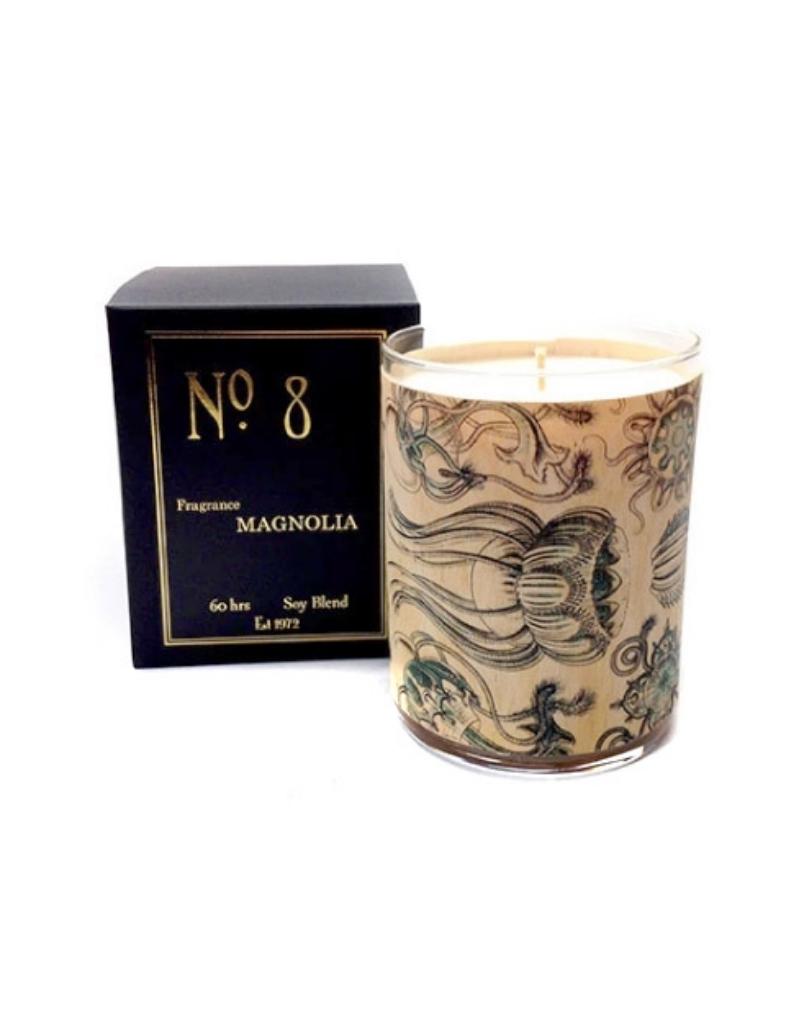 No 8 Magnolia Candle