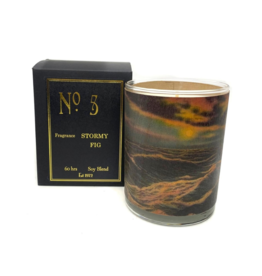 No 5 Stormy Black Fig Candle