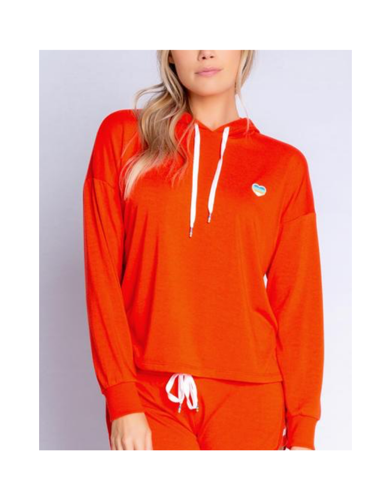 Retro Lounge Hoody Sweater