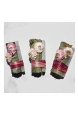 Eucalyptus + White Selenite Smudge Stick - Sweetheart