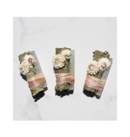 Eucalyptus + White Selenite Smudge Stick - Desert