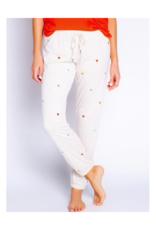 Retro Lounge Hearts Banded Pants Pants