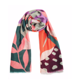 Printed Scarf Modern Parrot