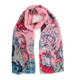 Printed Scarf Summer Fete