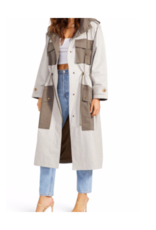 Say You Twill Trench Jacket