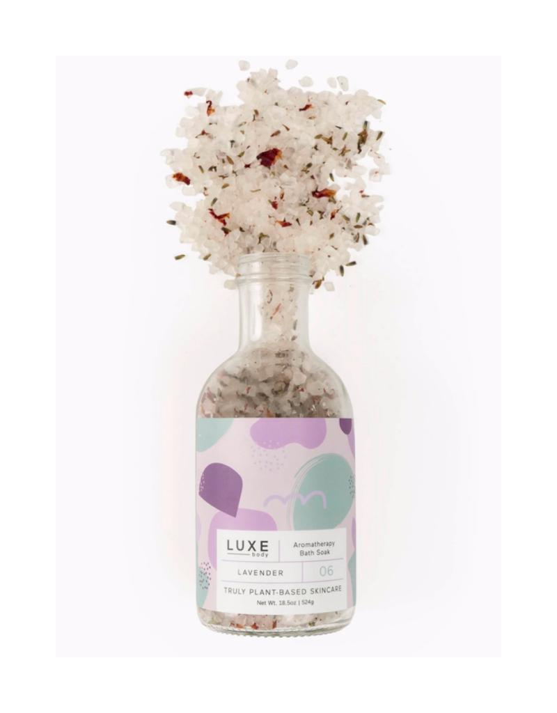 Luxe Lavender Aromatherapy Bath Salt Soak