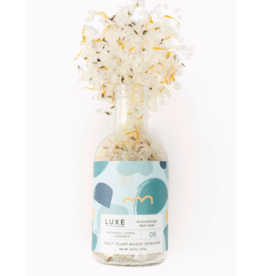Luxe Patchouli Litsea + Lavender Aromatherapy Bath Salt Soak