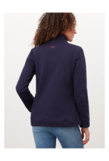 Beachy Funnel Neck Sweatshirt
