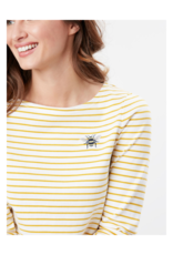 Habour Print Long Sleeve Jersey Top