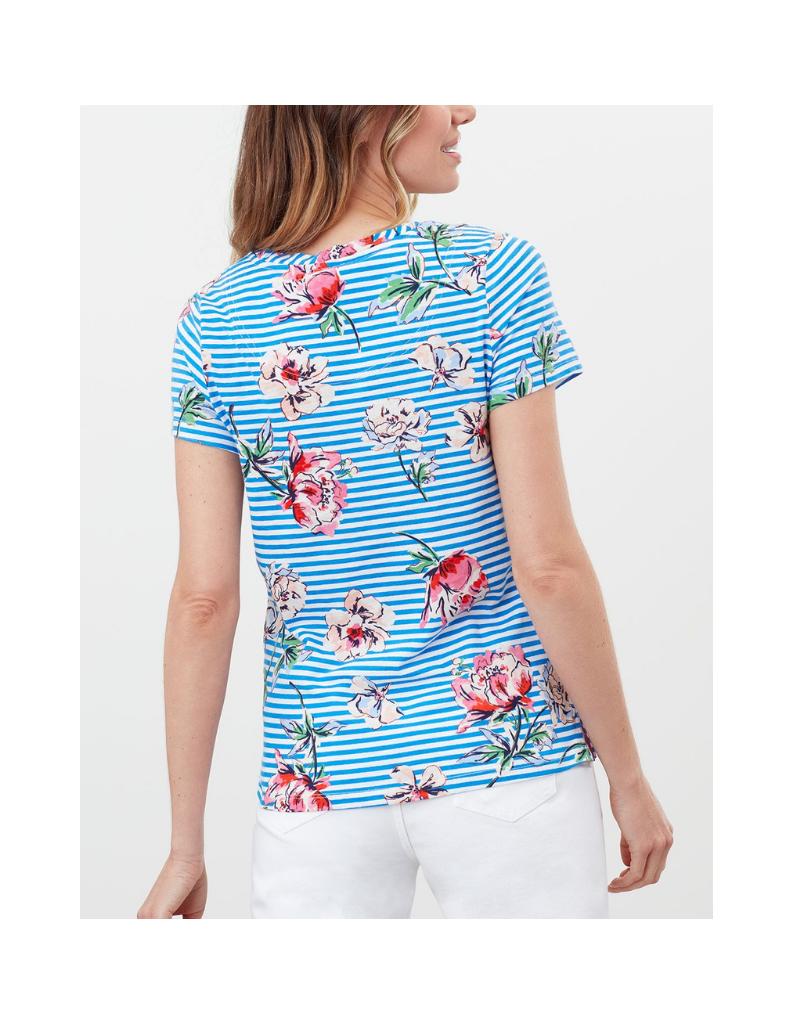 Carley Stripe Classic Crew T-Shirt