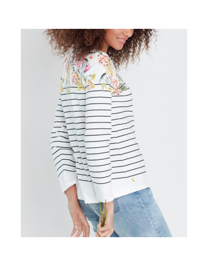 Harbour Print Long Sleeve Jersey Top