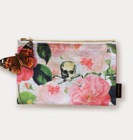 Tokyo Milk Skull with Roses Cosmetic Bag