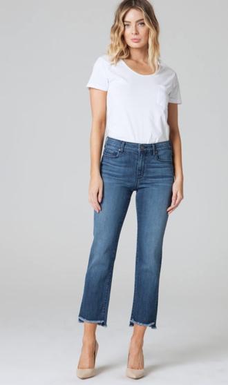 Shark Bite Straight  Jeans