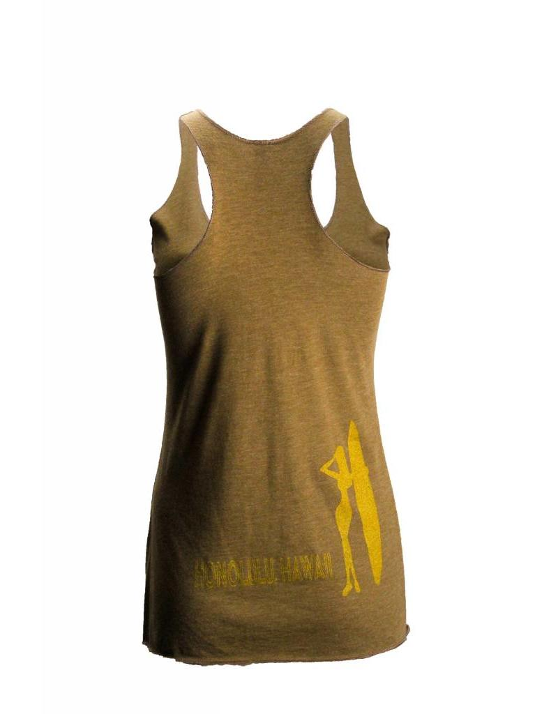 Big Wave Dave BWD Stoked Racer Tank