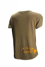 Big Wave Dave BWD Aloha Pineapple Dolman Shirt