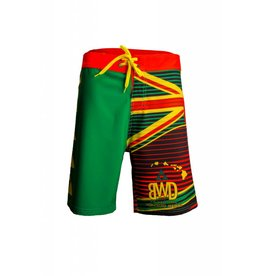 Big Wave Dave BWD Hawaiian Flag Boardshorts