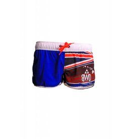 Big Wave Dave BWD Hawaiian Flag Women Boardshorts