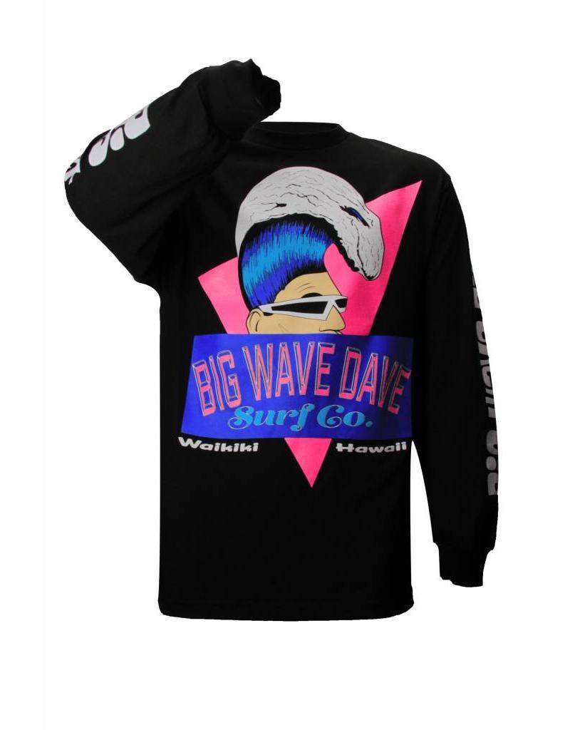 Big Wave Dave BWD Retro Long Sleeve Shirt