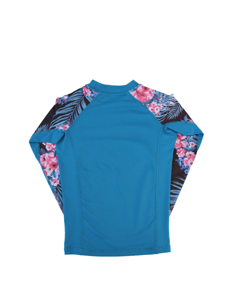 Big Wave Dave BWD Girls Lena Long Sleeve Rashguard