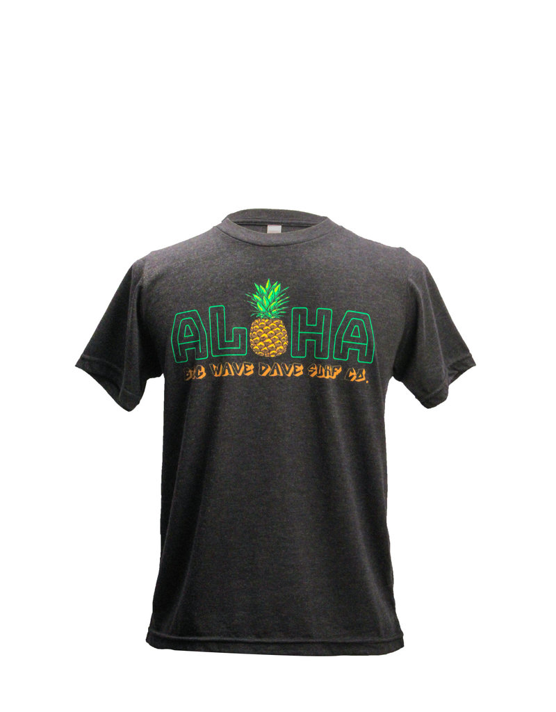 Big Wave Dave BWD Aloha Pineapple Kids Tee