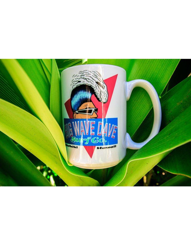 Big Wave Dave 15oz Retro  Dave Coffee Mug