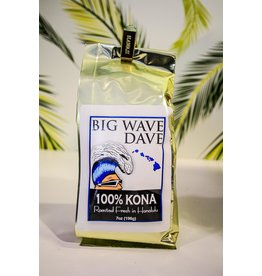 Big Wave Dave BWD 7oz 100% Kona Coffee