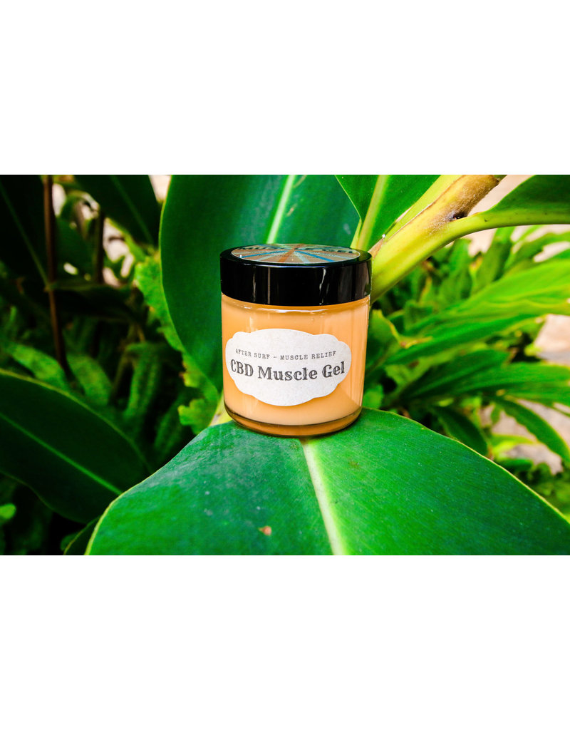 Hawaii Natural Cures CBD After Surf Muscle Gel