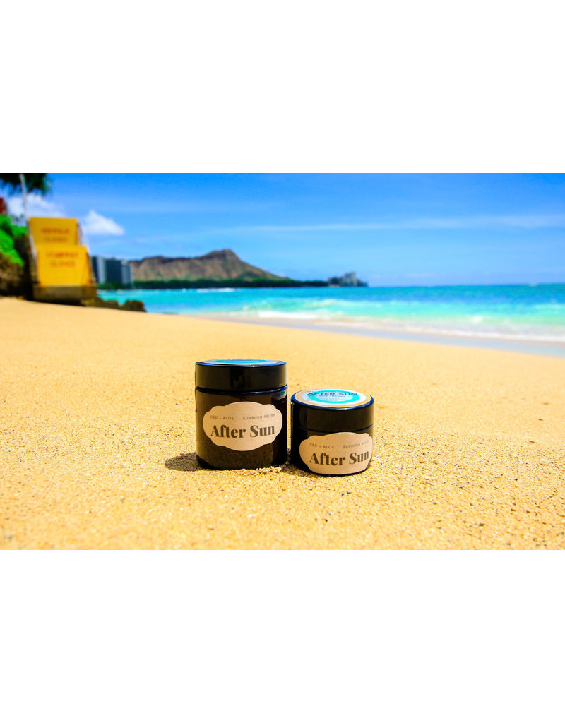 Hawaii Natural Cures CBD After Sun Soothing Gel