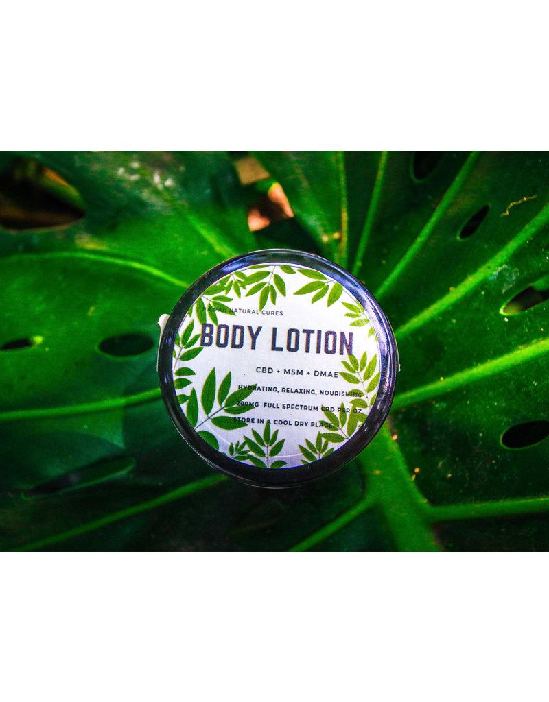 Hawaii Natural Cures CBD Lemongrass Body Lotion