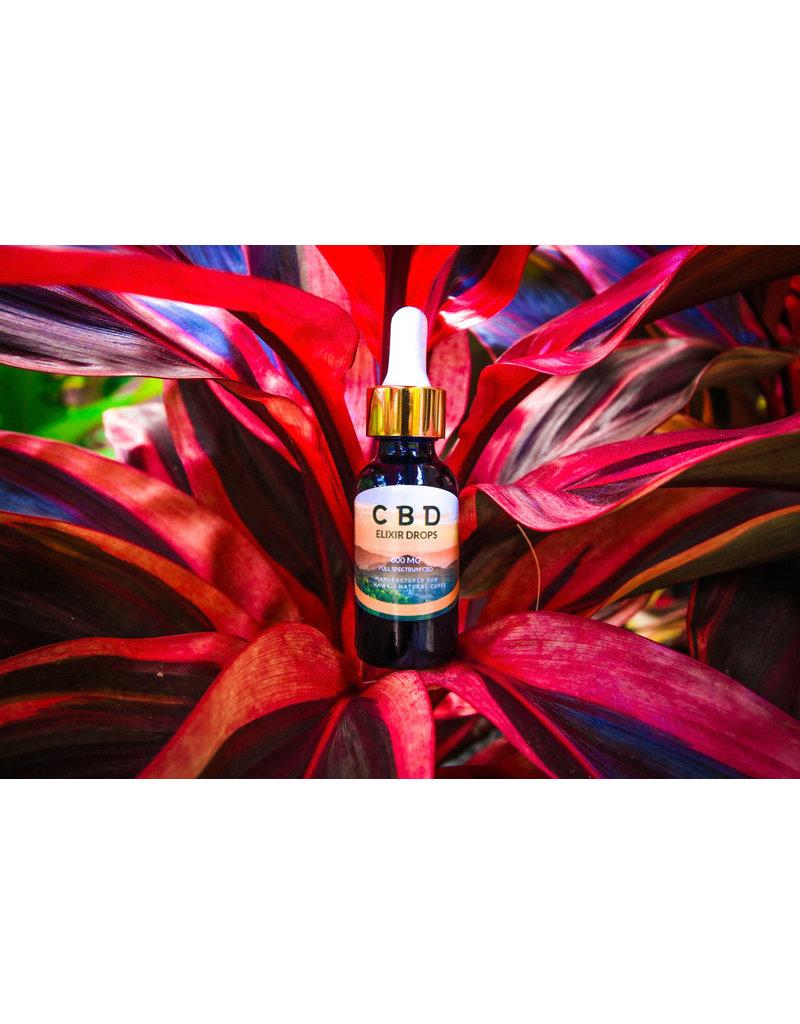 Hawaii Natural Cures CBD Elixir Drops 1oz.