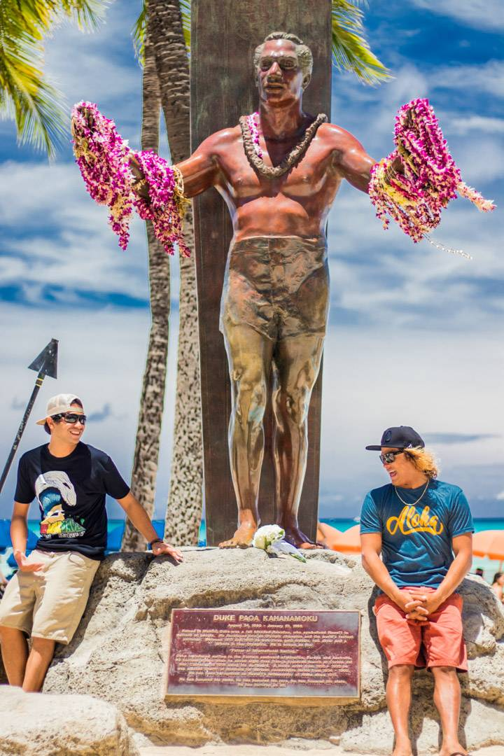 Duke the Father of Surfing