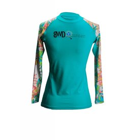 Big Wave Dave BWD  Lena Girl Long Sleeve Rashguard
