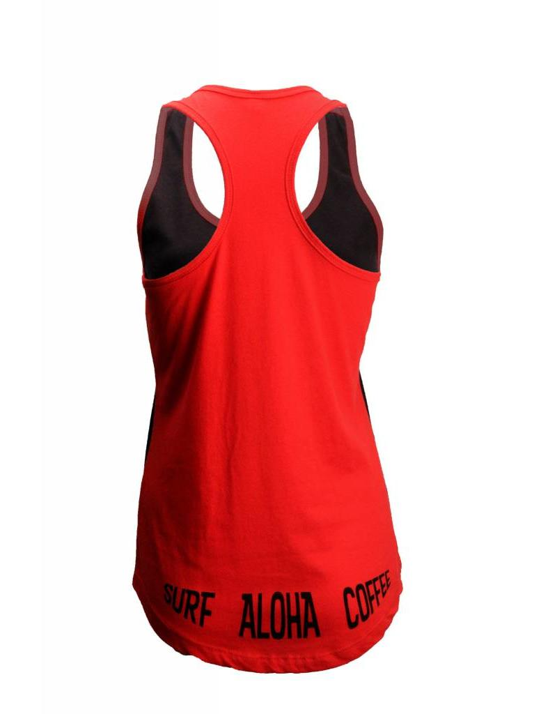 Big Wave Dave BWD Surf Aloha Coffee Tank