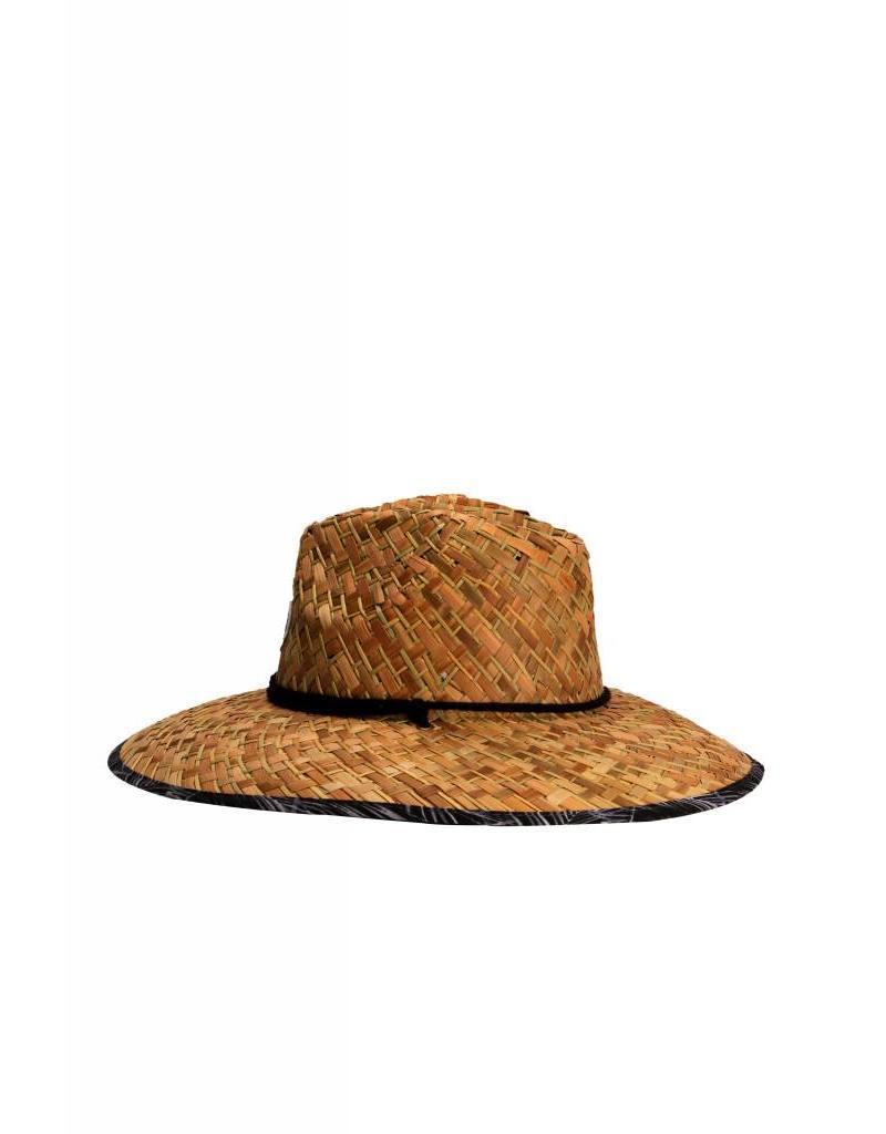 Big Wave Dave BWD Jetty w/ Palms Straw Hat