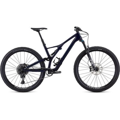 Specialized 2019 Specialized Stumpjumper ST Comp Carbon, 29, Blue/White - Medium