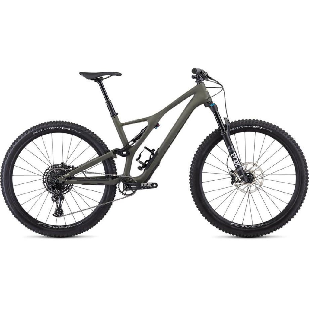 Specialized 2019 Specialized Stumpjumper ST Comp Carbon, 29, Green - Medium