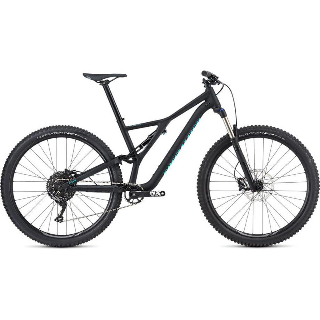Specialized 2019 Specialized Stumpjumper ST FSR, 29, Black/Blue  - Medium