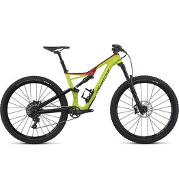 Specialized 2017 Specialized Stumpjumper FSR Comp Carbon, 29, Hyper/Candy - Medium
